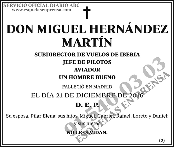 Miguel Hernández Martín